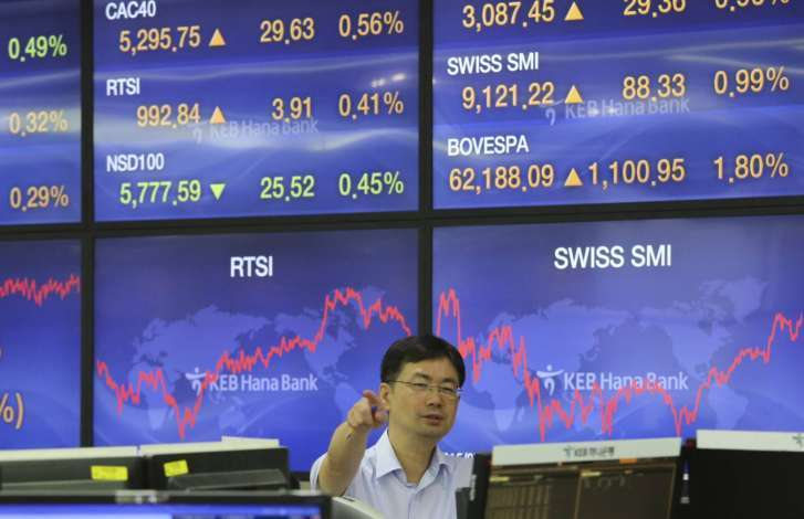 Global share sell-off hits Asia after Wall St, Europe losses