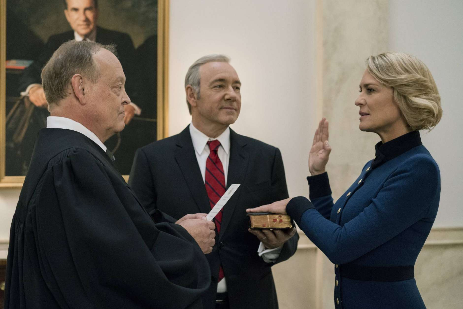 Kevin Spacey, Robin Wright, 5