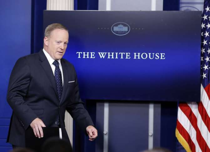 Sean Spicer May Get To Choose His Own Replacement If He Quits