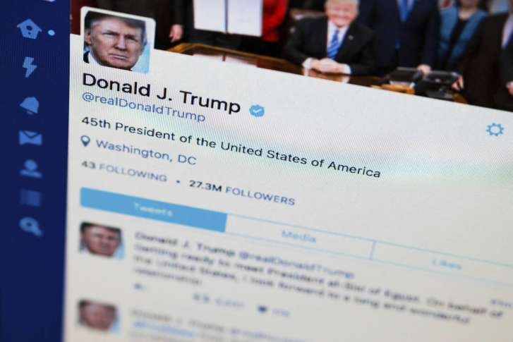 Trump's Twitter Blocks Violate First Amendment: Advocacy Group