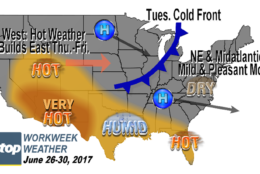 Despite the lack of big weather events, it's actually going to be quite comfortable for most of the workweek.  (WTOP/Storm Team 4)