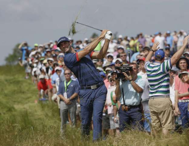 McIlroy trying to make up ground at US Open