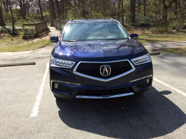 Car Review Acura MDX Gets A Modern Makeover For WTOP - Acura mdx front grill