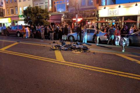 2 officers, 1 DC gov. worker hit by pickup truck in Adams Morgan