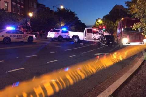 'He annihilated him' — video from Adams Morgan crash played in court
