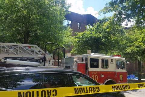 Body found at site of DC apartment fire