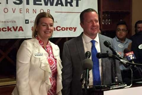 Pr. William Co. backs Stewart; N.Va. Democrats support Northam