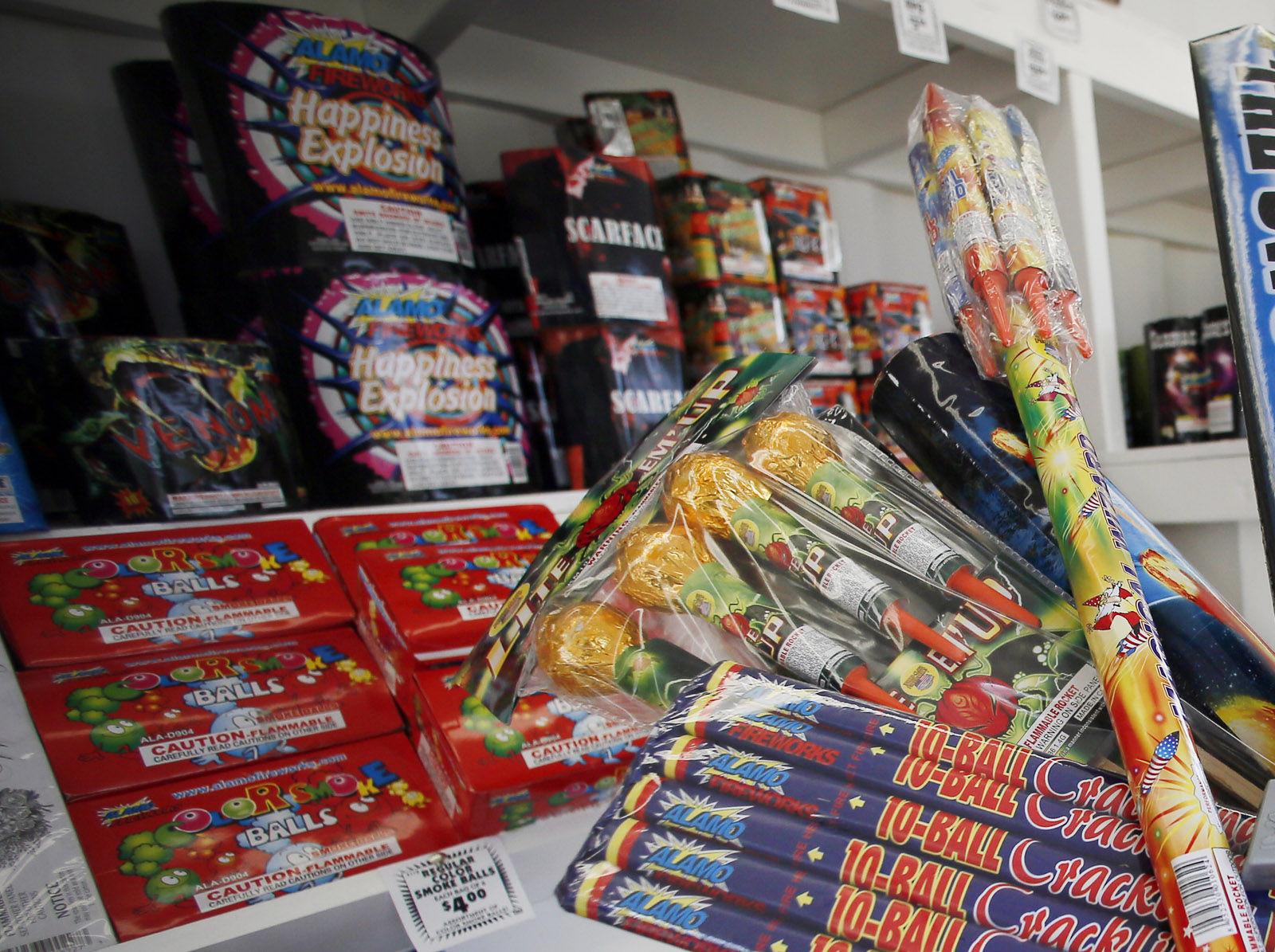 how to stay safe around fireworks