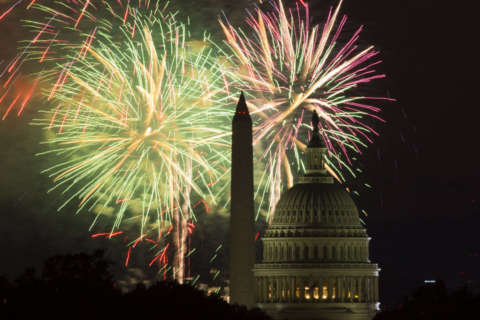 Will the dry weather hold out for July 4?
