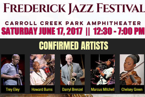 First-ever Frederick Jazz Festival debuts at picturesque Carroll Creek