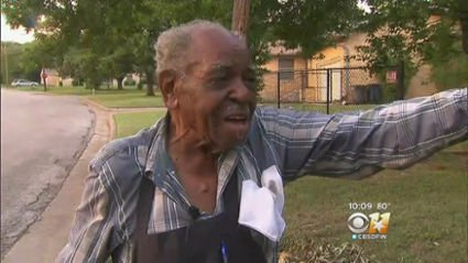 Officers help get 95-year-old air conditioner (Video)
