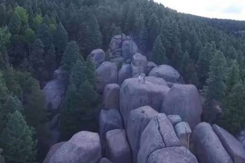 Drone finds lost hikers and dog in Colorado