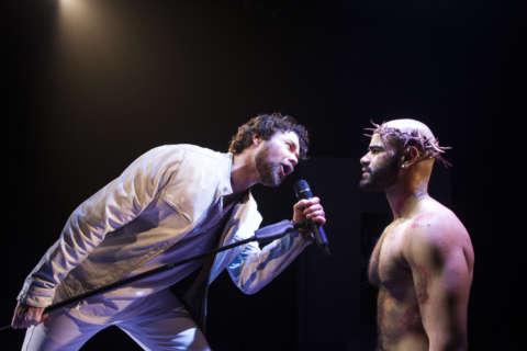 Judas and Jesus collide in Signature Theatre's 'Jesus Christ Superstar'