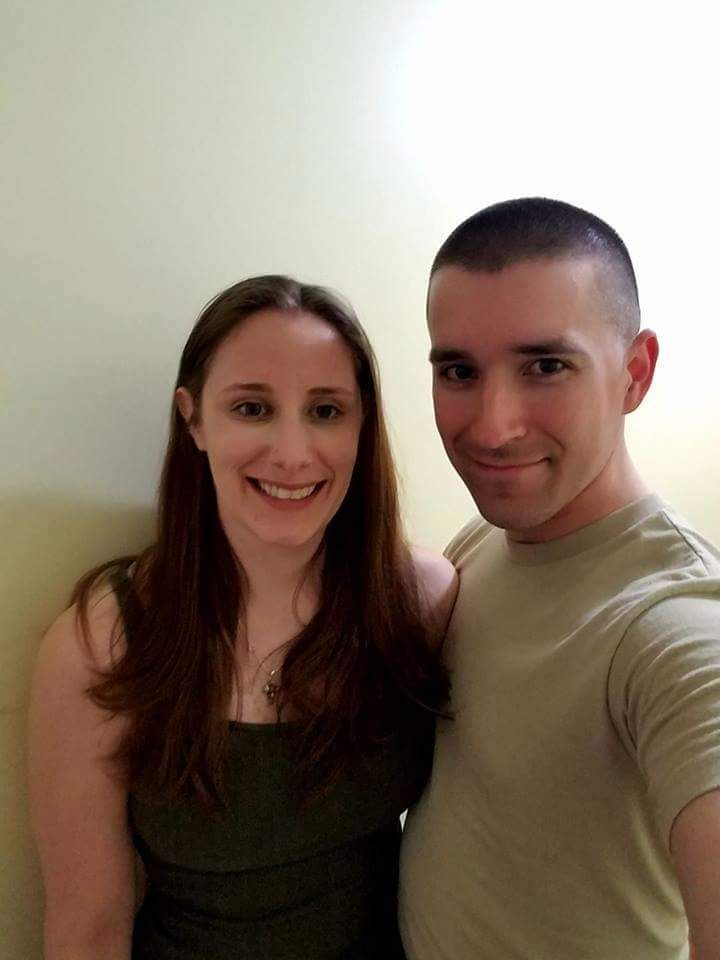 Katie Feeney's husband Patrick is a Staff Sergeant in the Air Force.  They got married in 2010. (CourtesyKatie Feeney)