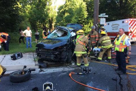 1 killed, 1 injured in Montgomery Co. crash