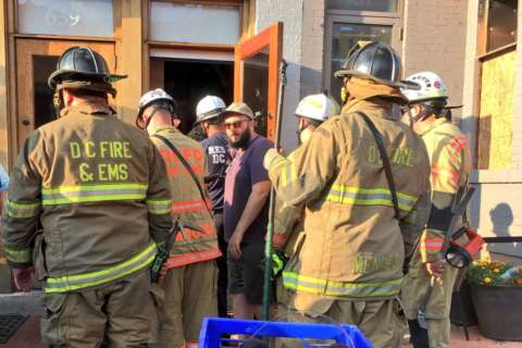 DC bar remains closed after partial roof deck collapse