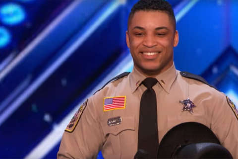 Stafford Co.'s 'dancing deputy' takes stage on 'America's Got Talent'