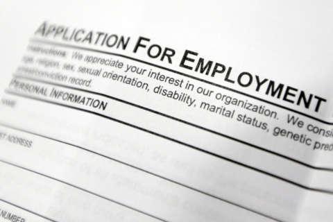 Virginia, Maryland unemployment falls