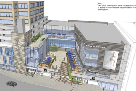 Open-air plaza, more retail proposed for Rosslyn Metro Center