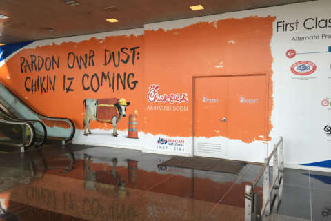 Reagan National getting a Chick-fil-A
