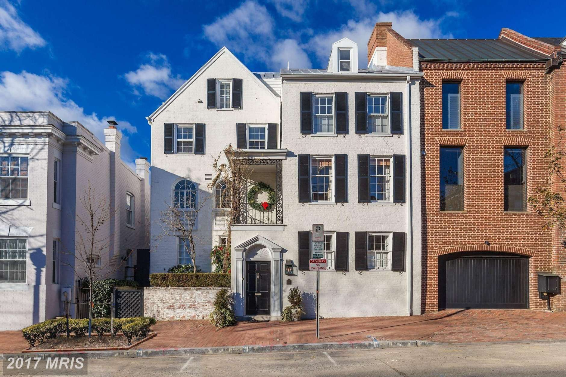 4. $4,600,000  1314 28th St. NW; Washington, D.C.  This attached row house built in 1801 has five baths, two half baths and six bedrooms. (Courtesy MRIS, a Bright MLS)