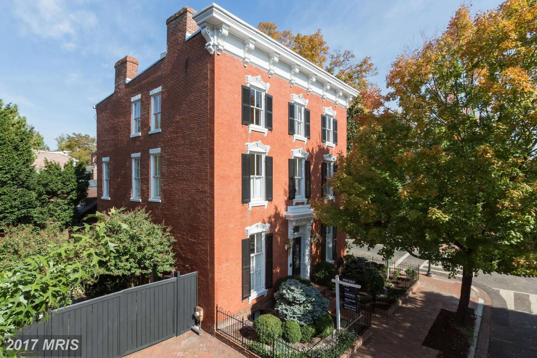 8. $3,950,000  3401 N St. NW; Washington, D.C.  This house built in 1900 has four full baths, one half bath and seven bedrooms.   (Courtesy MRIS, a Bright MLS)