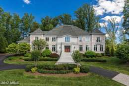 7. $4,025,000  7805 Meritage Lane; McLean, Va.  Built in 2006, this house has eight full baths, 2 half baths and seven bedrooms. (Courtesy MRIS, a Bright MLS)