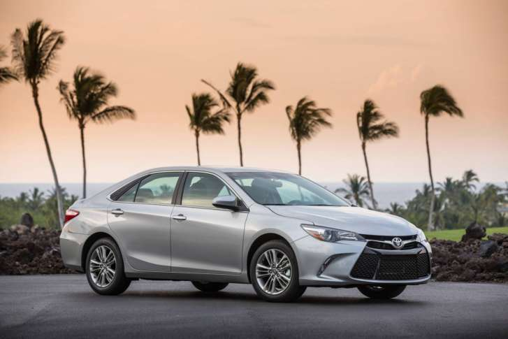 This Photo Provided By Toyota Shows The 2017 Camry Midsize Sedan Which Is Scheduled To Be Replaced With An All New Model In Early August