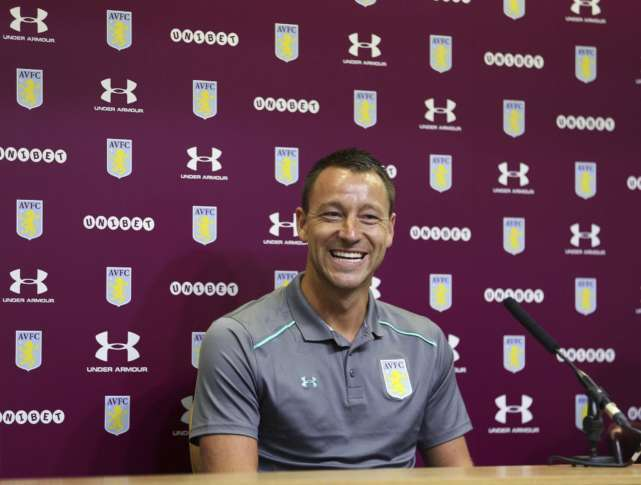 Chelsea legend John Terry agrees to join Aston Villa for year