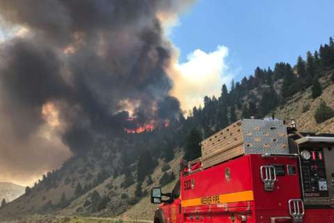 Why Md. firefighters are in the Rocky Mountains of Colorado (Photos)