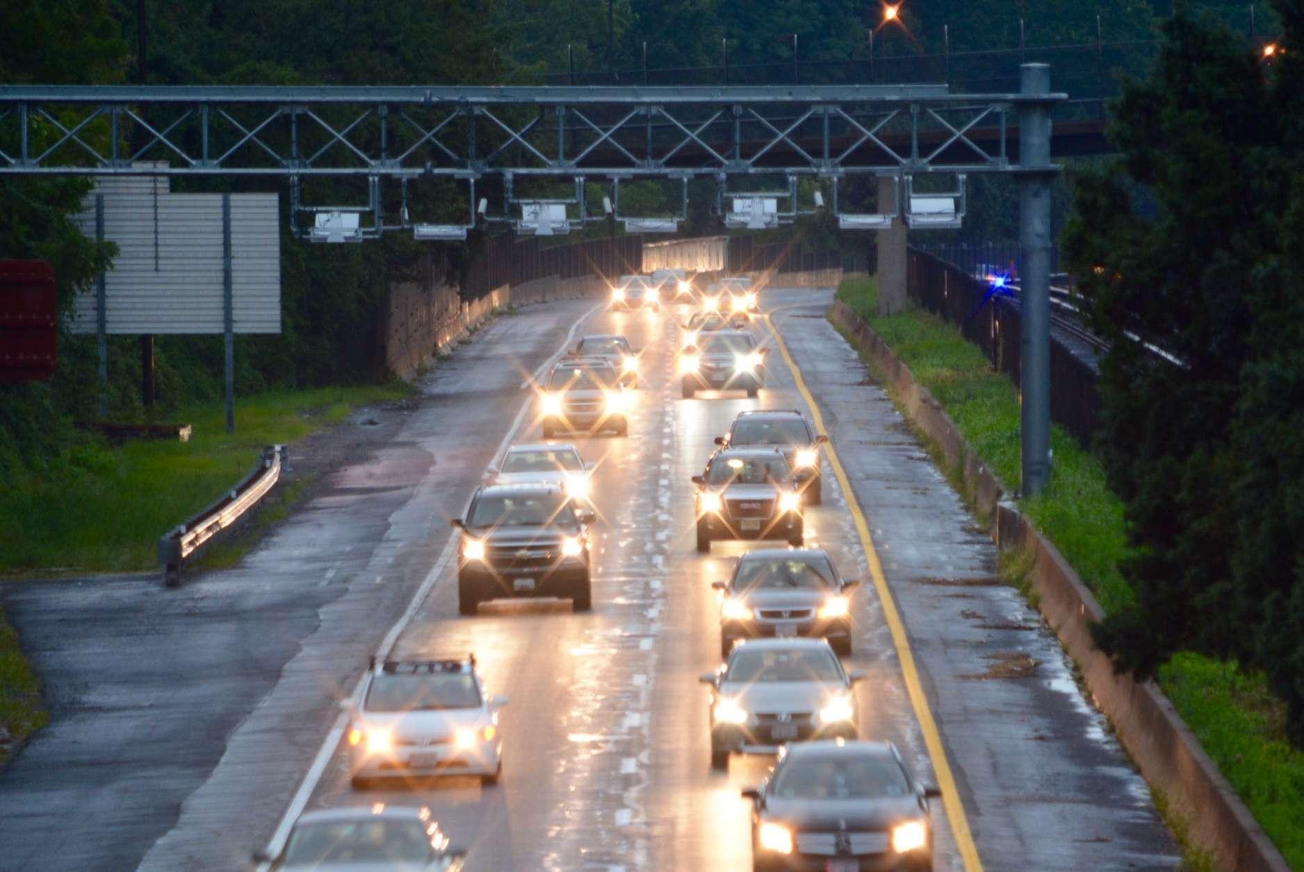 I-66 66 express lanes inside Beltway Arlington traffic toll road