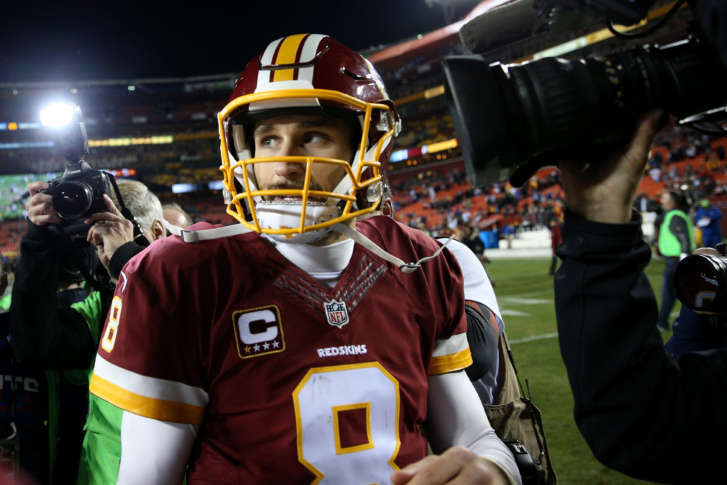 Brace yourself for a cousins redskins divorce wtop landover md january 01 quarterback kirk cousins 8 of the washington redskins looks on after the new york giants defeated the washington redskins 19 10 solutioingenieria Images