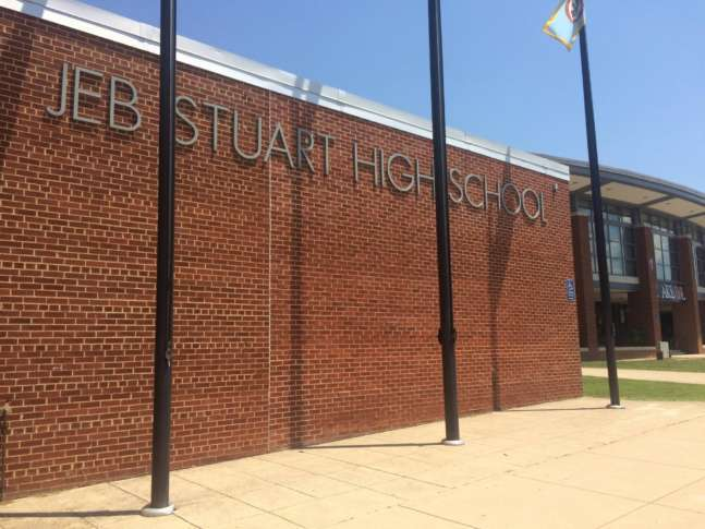 JEB Stuart High School to be named