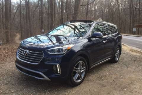 Car Review: Hyundai offers 'value buy' with 2017 Santa Fe Limited Ultimate