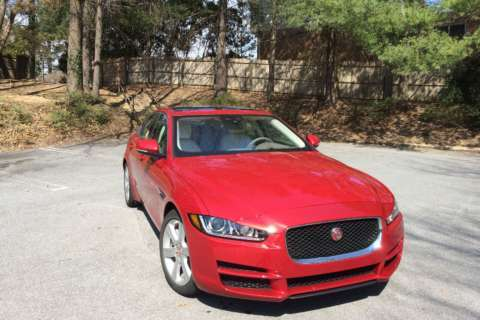 Car Review: Jaguar XE 20D AWD adds sport to fuel efficiency for 2017 model
