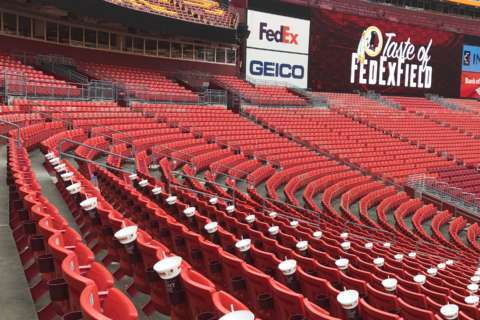 Redskins open up home schedule Sunday — but will fans show?