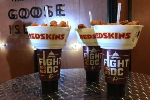 What's new on the menu at FedExField?