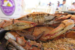 Harris Crab House and Seafood Restaurant is in Grasonville, Maryland. (WTOP/Ed Kelleher)