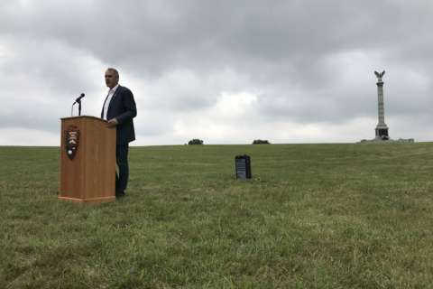 Trump will donate portion of salary to Antietam battlefield projects