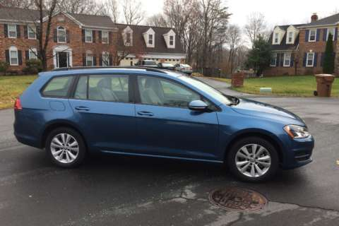 Car Review: VW Golf SportWagen offers space with a smaller footprint