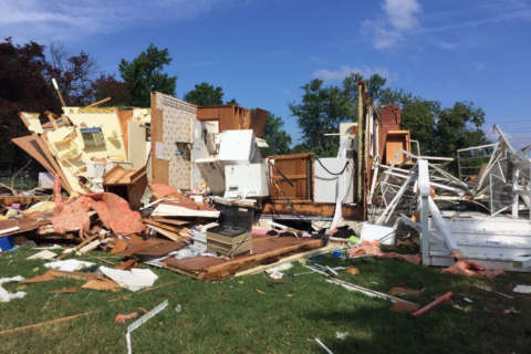 Maryland crews assist with tornado cleanup efforts on Eastern Shore