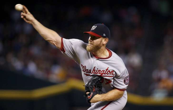 Stephen Strasburg to Be Placed on 10-Day DL with Nerve Injury