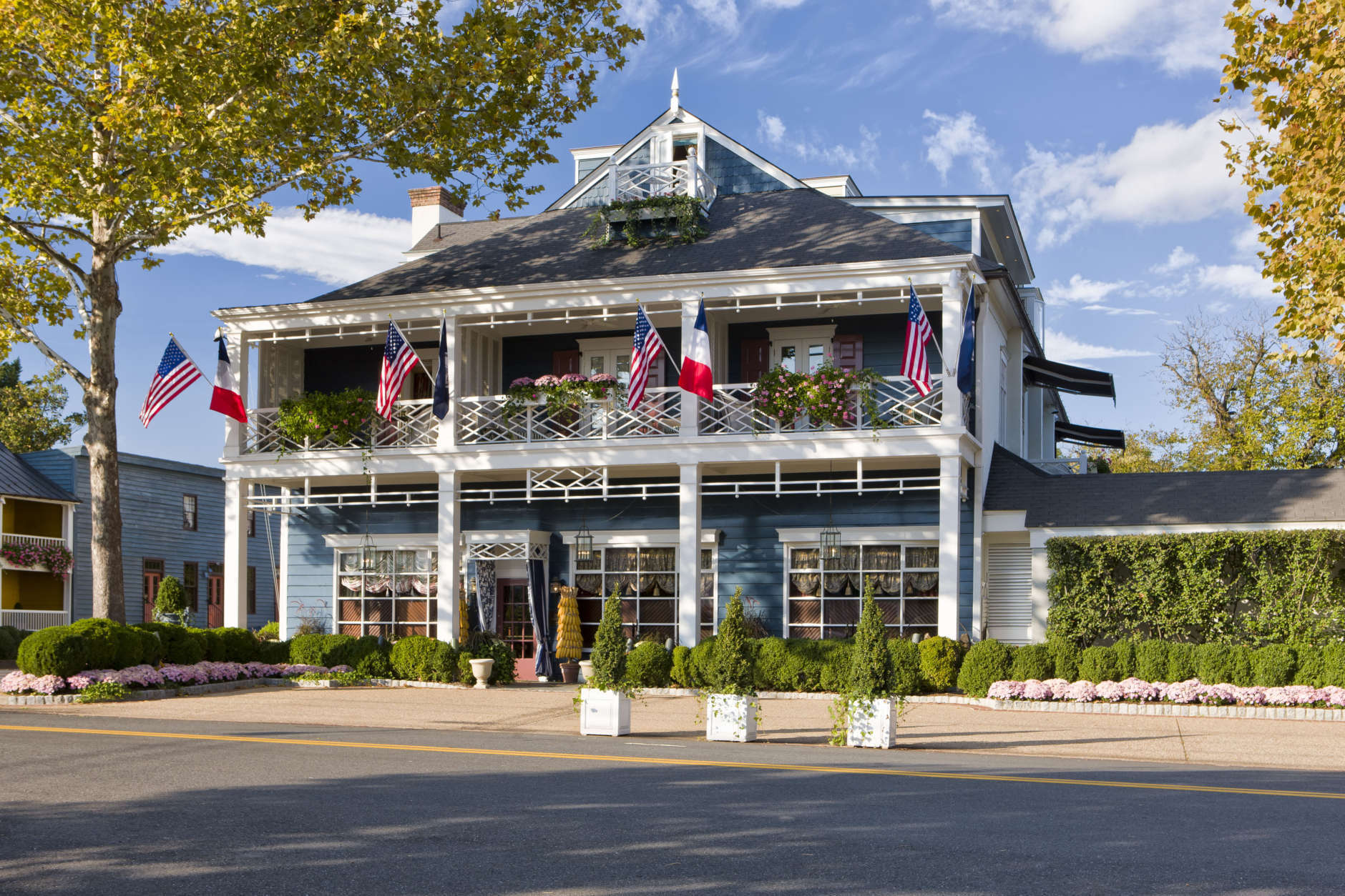 The Inn at Little Washington is known by critics and clientele as one of the most luxurious destinations in the country. But 40 years ago, it was far from fancy. What serves as the main building today was once an old garage with a junkyard on one side and the town dump in the back. (©2012 Gordon Beall/Gordon Beall)