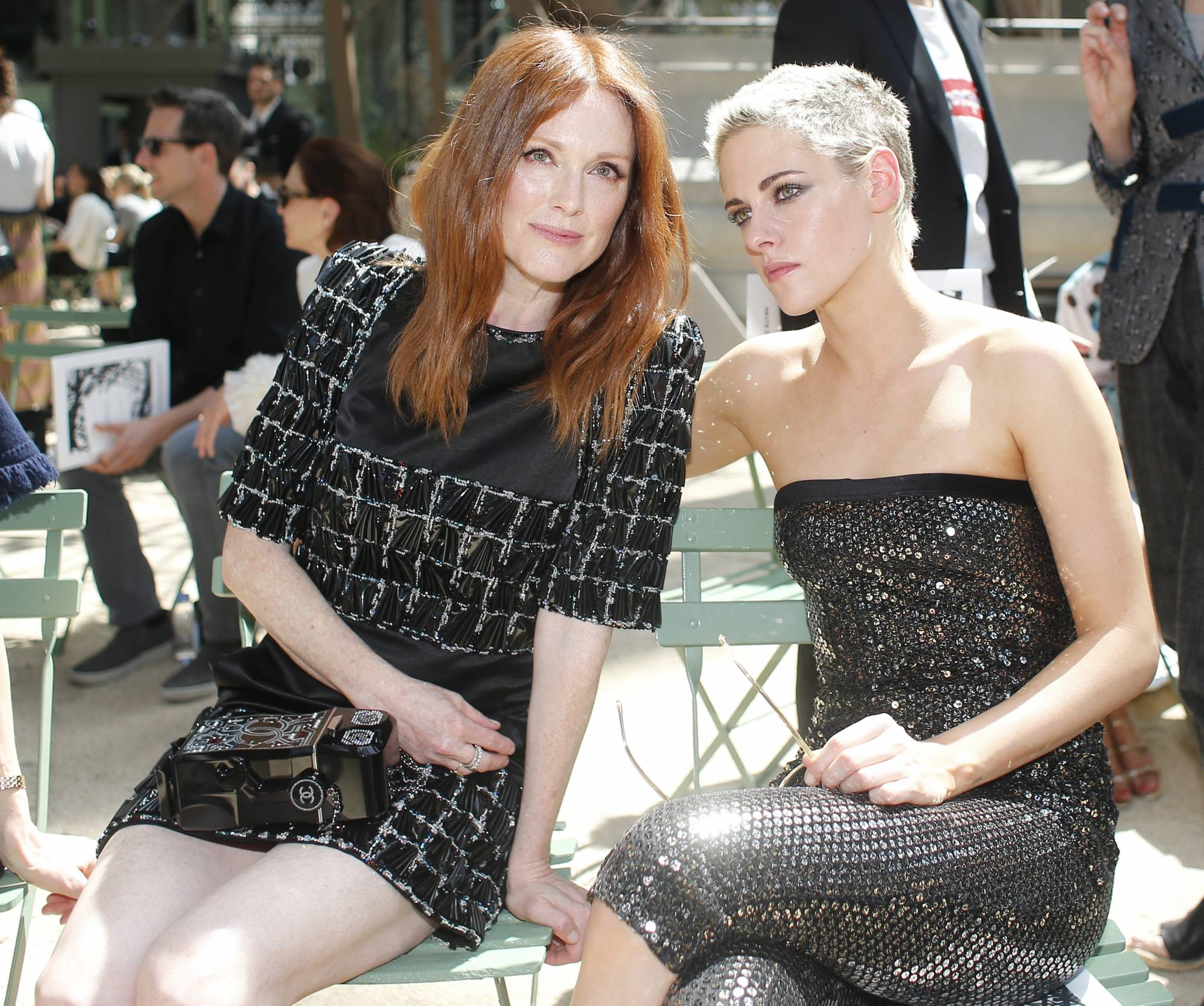 a72a66963d8 Chanel aims high with starry  Eiffel Tower  Paris show