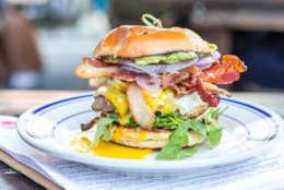 The Proper Burger, from Duke's Grocery (Courtesy Duke's Grocery/Credit April Greer, Thrillist)
