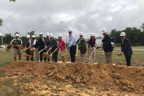 Courthouse Rd. widening gets underway near I-95