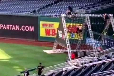 Spartan Race, 3-mile obstacle course, comes to Nationals Park