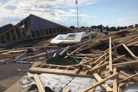 Cleanup continues: Tornado damage on Kent Island 'like a war zone'