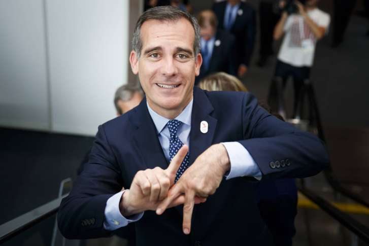 Los Angeles' bid for the Olympics and Paralympics
