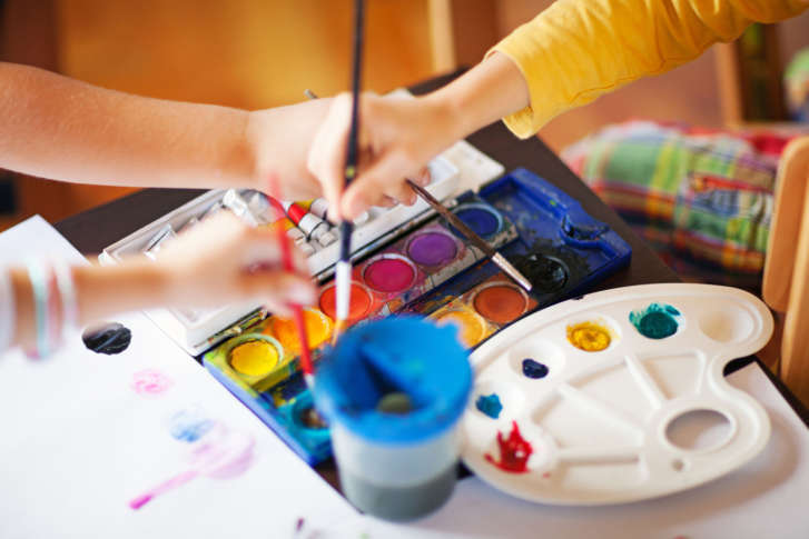 Childrens Art Instructor Anne Freeman Also Known As Anna Banana Arts And Crafts Shares Some Of Her Favorite Activities For Your Budding Artist